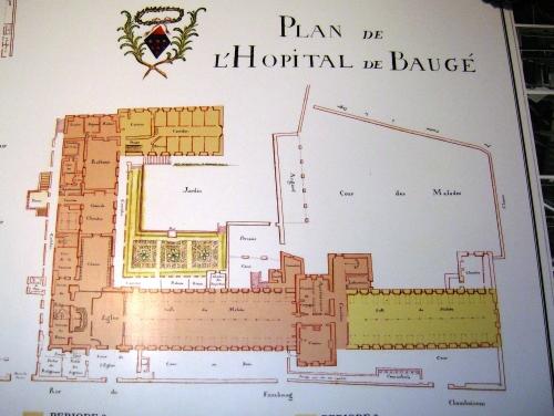 Plan de l'Hôtel Dieu
