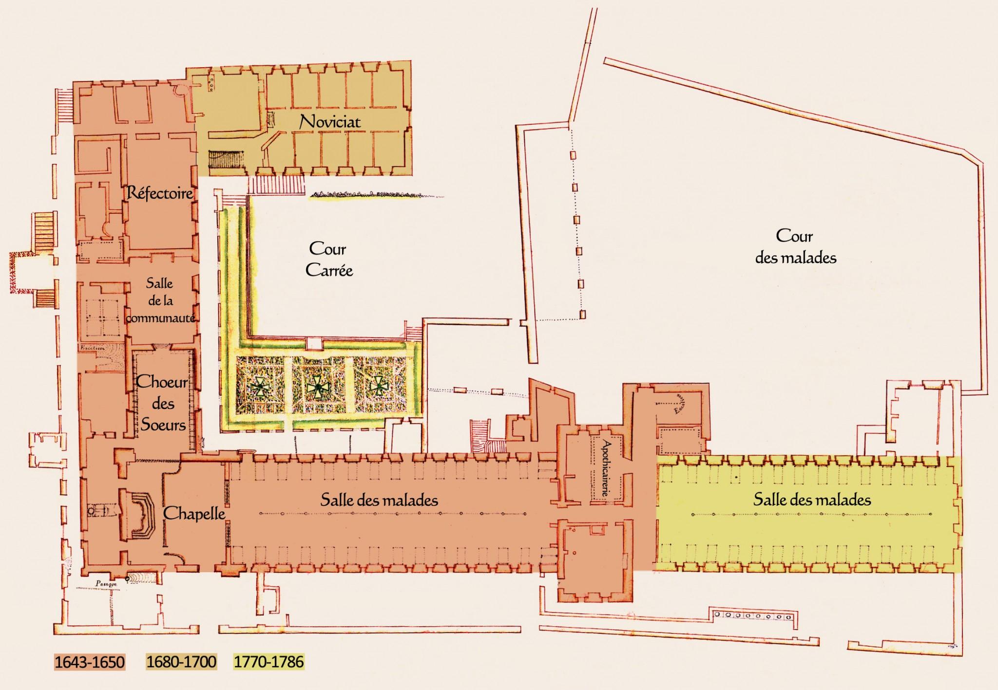 Un peu d'histoire de l'Hôtel-Dieu de Baugé