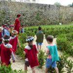 visite pédagogique - maternelles -château de Baugé